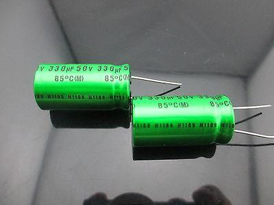 Japan 2pcs Nichicon Muse Es Bp 330uf 50v 330mfd Audio Capacitor Caps