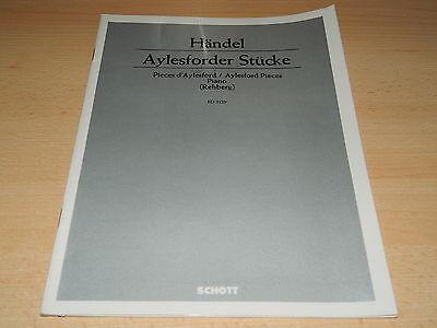 HÄNDEL - Aylesforder Stücke - Piano - Rehberg - Schott