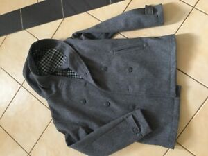 Men's Jacket -Hooded 50%wool size. S. As New Highton Geelong City Preview