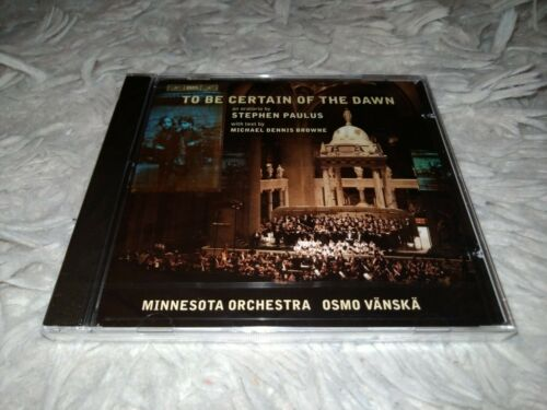 Minnesota Orchestra - To Be Certain Of The Dawn CD  - $24.99
