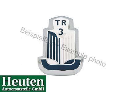 "2316-18 Abzeichen Motorhaube Triumph TR3A ""blau-weiss"", 608377"