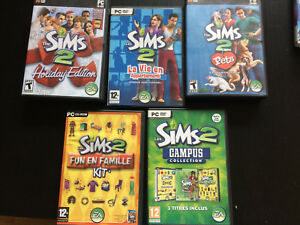 Sims 2 game & expansions
