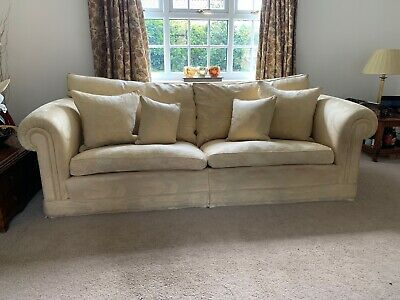 gold used duresta Waldorf sofas and armchair
