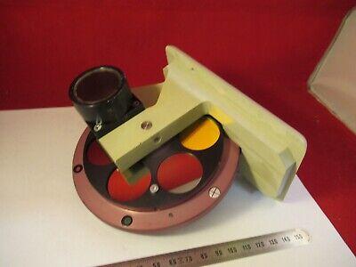 Reichert Met Polyvar Filter Wheel Optics Microscope Partas Pictured 10-a-06