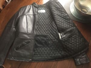 Ladies XS genuine leather chaps and jacket