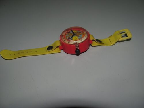 Rare 1970s Lanard Toys Cereal Soldiers Watch Good Condition And Still Functions