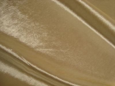 One yard HOLLY HUNT SILK VELVET LIMOUSINE Pearl White UPHOLSTERY FABRIC BTY