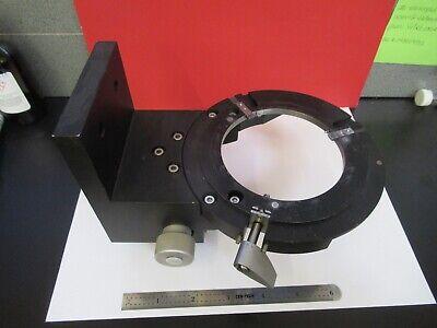 Reichert Austria Polyvar Stage Holder Mechanism Microscope As Pictured 3-ft-x3