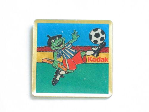 Kodak Frog Playing Soccer Pin (#17)