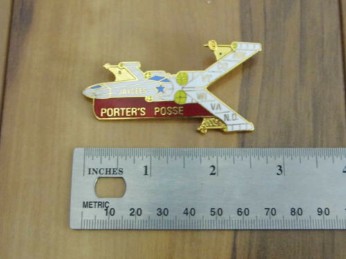Jaycees Collector Pin - Porter
