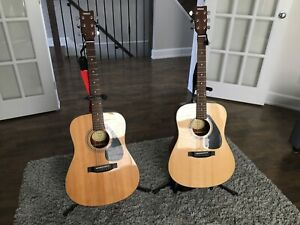 Like new two Yamaha Acoustic Guitar F325D