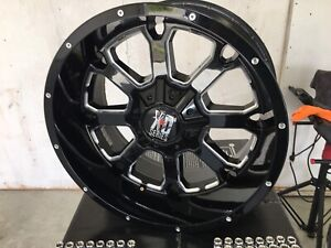 Xd Buck 25. 20x10 -24 offset (wheels only )
