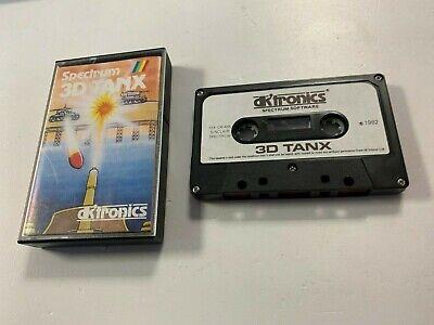 Sinclair Spectrum Game - * Sinclair ZX Spectrum RARE Game * 3D TANX *