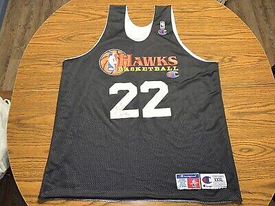 Champion NBA Authentic Atlanta Hawks #22 Reversible Practice Jersey Size XXXL