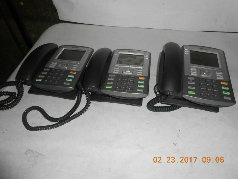 Nortel 1140EIP BUSINESS PHONE LOT OF 3
