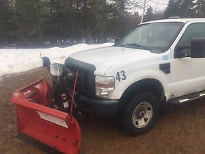 2008 F250 with 2010 Boss V plow