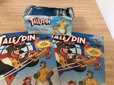 1991 Panini Tail Spin Sticker Box / Albums