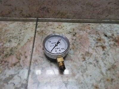 Toako Pressure Gauge 770507 Cnc Mori Seiki Mv-45b Cnc Vertical Mill