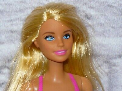 Mattel Barbie Doll WATER PLAY Life in the Dreamhouse Permanent Bathing Swimsuit