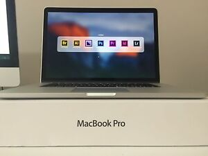 "Macbook Pro Retina 15"" Bought 2014 i7 3.2GHz 8GB RAM+Microsft+CS6 Burswood Victoria Park Area Preview"