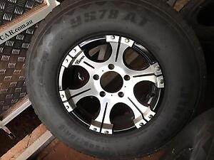 4 Dick Cepec Alloy rims (5 stud) All Terrain tyres ( set of 4) South Johnstone Cassowary Coast Preview