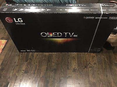 LG OLED55B6P Flat 55-Inch 4K Ultra HD Smart OLED TV ***NEW LOCAL PICKUP ONLY***
