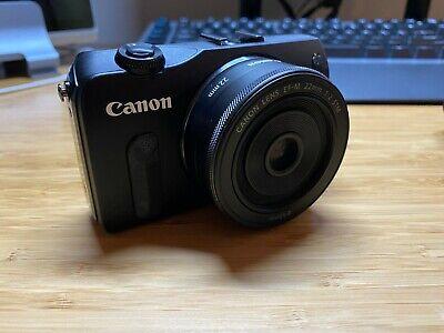 Canon EOS M Mirrorless Digital Camera with EF-M Lens and Case + BONUS
