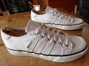 mens adidas clemente low - size uk 10 ( 2009 ) good condition