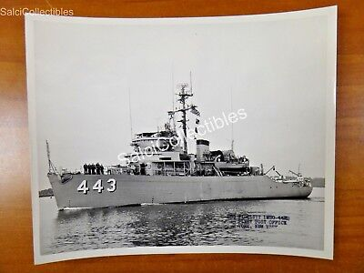 Official Navy Class Minesweeper Ship  Photo 8X10 Mso 443 Fidelity