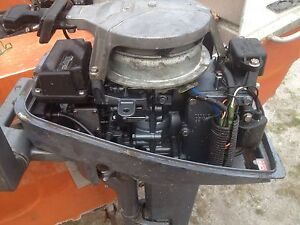Yamaha 8 HP outboard , rebuilt , just had run in oil changed , Scottsdale Dorset Area Preview