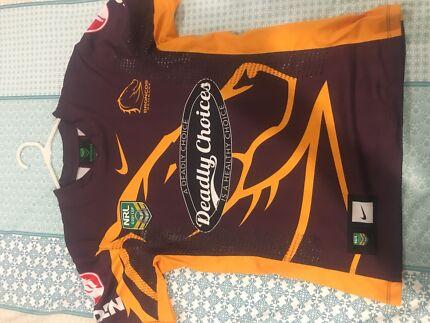 Brisbane Broncos Under 20 Players Jersey NRL