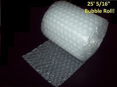 25 Foot Bubble Wrap Roll 516 Medium Bubbles 12 Wide Perforated Every 12