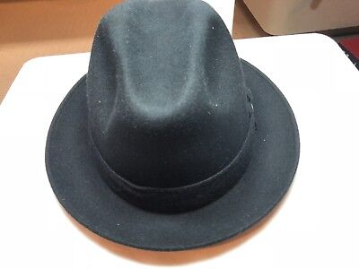 stetson stet 3101 hat wool mens center dent grey brand new with tag pinch front  Stetson Center