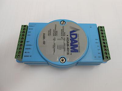 Adam-4016 Data Aquisition Module Input Range 50mv Output Range 0-10v