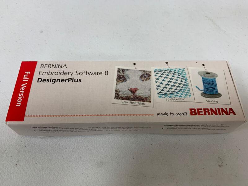 Bernina Embroidery Software Designer Plus Version 8 (8.2) V8 - Full Version
