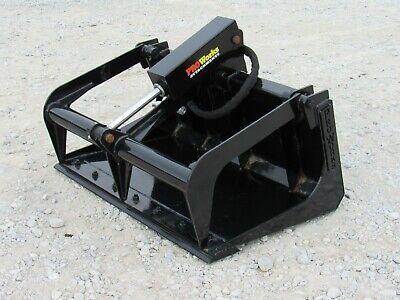 42 Solid Bottom Bucket Grapple Attachment Fits Toro Dingo Mini Skid Steer
