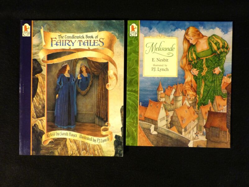 Two P J Lynch illus.books by Candlewick, PB, Melisande and Fairy Tales, both NEW