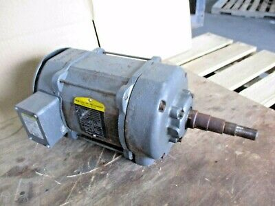 Baldor Reliance 7.5 Hp Saw Duty Motor 230460 V 3450 Rpm 3 Ph 510707j Used