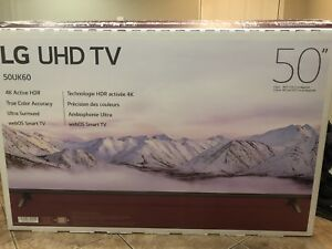 """50"""" TV for sale. Totally  new condition."""