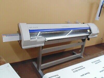 Roland Versacamm Sp-540v 54 Wide Format Solvent Printer Print And Cut