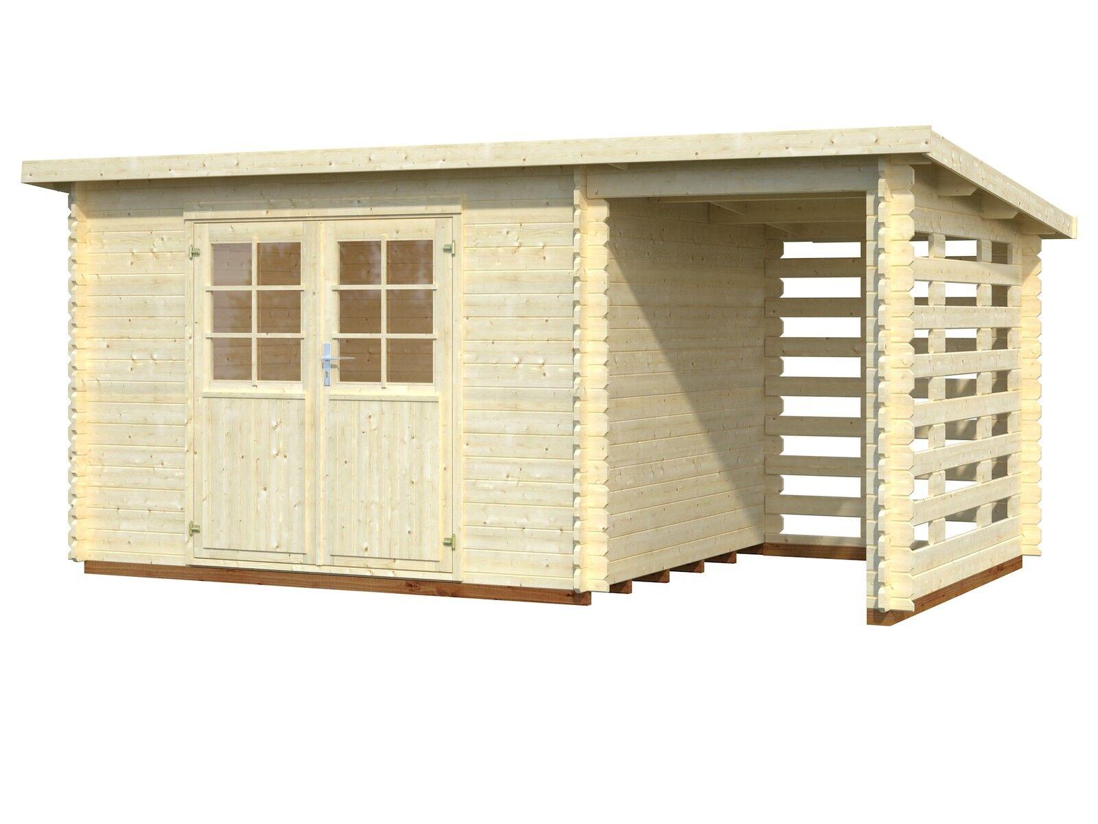 28 mm gartenhaus 490x300 anbau ger tehaus pultdach schuppen schleppdach holzhaus eur. Black Bedroom Furniture Sets. Home Design Ideas