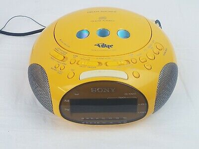 Sony Dream Machine: Retro CD Player Alarm Clock Radio, Psyc - TESTED & WORKS