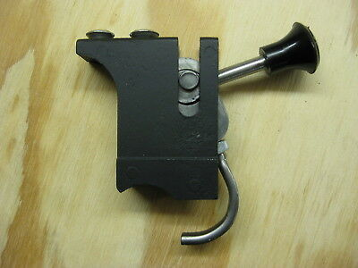 Knob And Lever For The Rear Rail Clamp On A Unisaw Junior Fence