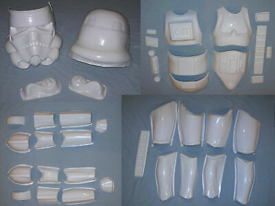 New Stormtrooper Armor (Stormtrooper Armor Cosplay Costume Star Wars 501st ANH TK Kit 2mm ABS w/)