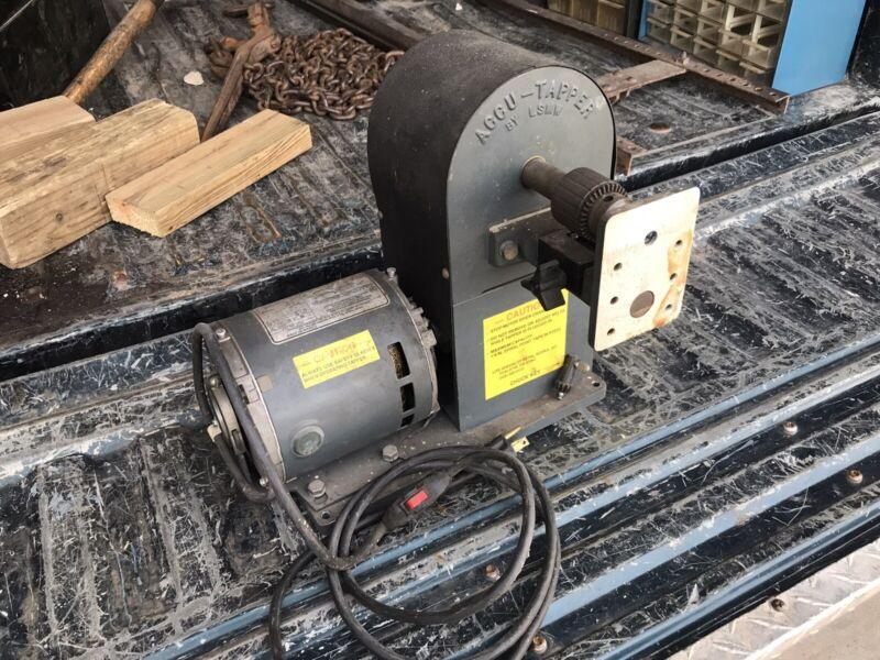 Accu-Tapper — Tapping & Deburring Machine - LSMW