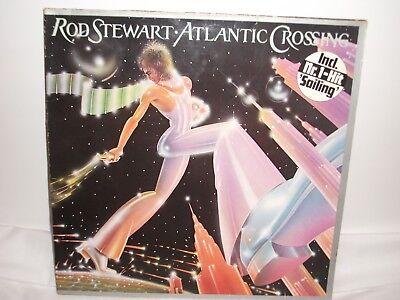 Rod Stewart Atlantic Crossing 1975 Lp in VG/VG Condition