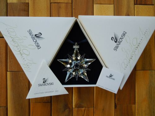 SWAROVSKI 2001 LARGE CHRISTMAS HOLIDAY ORNAMENT
