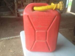 Jerry Can - Willow Red 20Ltr - As New - With Pourer. Mid Murray Preview