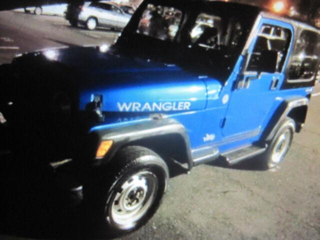 Imagen 1 de Jeep Wrangler  blue