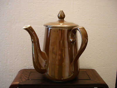 BROWN TEA POT BY APILCO 5 3/4""